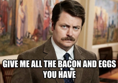 One of our favorites!  Ron Swanson!