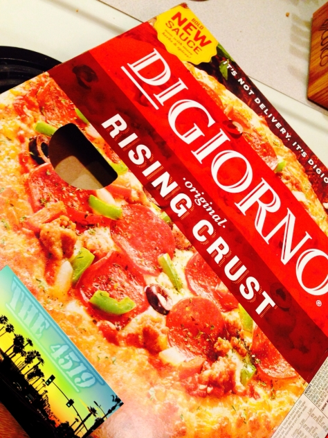 digiornos pizza, pizza, frozen pizze, the4519, pizza review, food blog