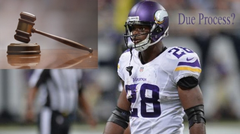 NFL, adrian peterson, courts, due process, nflpa, minnesota vikings, fantasy football, mark dayton