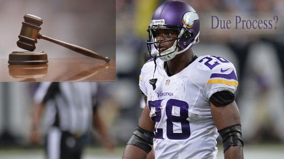 NFL, adrian peterson, courts, due process, nflpa, minnesota vikings, fantasy football, mark dayton