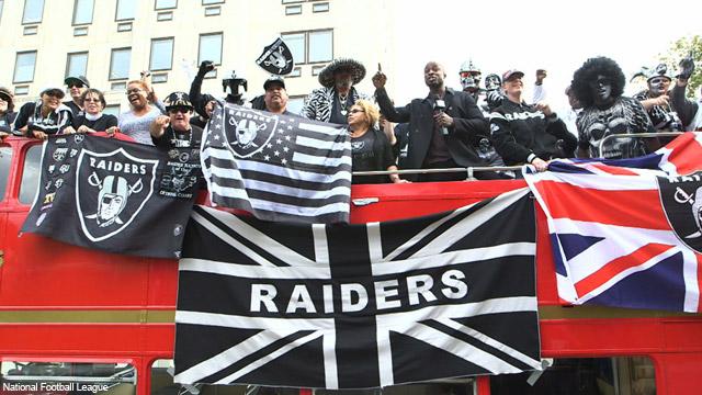 nfl london, nfl, oakland raiders