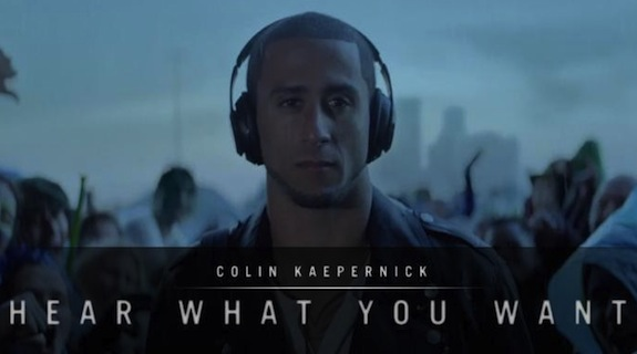 Colin Kaepernick, beats by dre, apple, nfl, nfl films, bose
