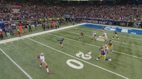 Kaepernick throw