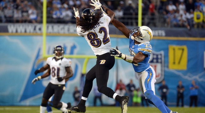 Ravens Host Chargers in Push for Playoffs