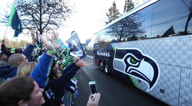Fans see Seahawks off to Super Bowl