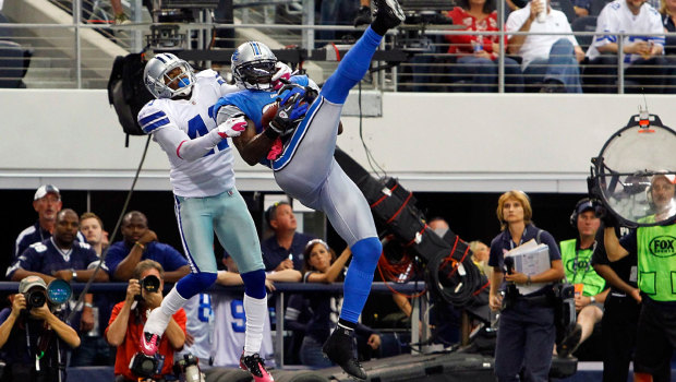 Officials change minds on controversial call, helping Cowboys to win