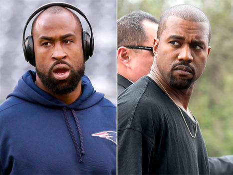 "Kanye West Slammed As a ""Sucka"" By New England Patriots' Brandon Browner"