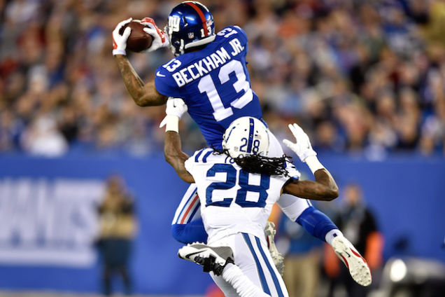 Odell Beckham Jr:  NFL Rookie of the Year