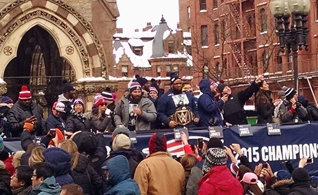 Triple H Sending WWE Title Belt to the Patriots, super bowl, super bowl xlix, new england patriots, wwe,