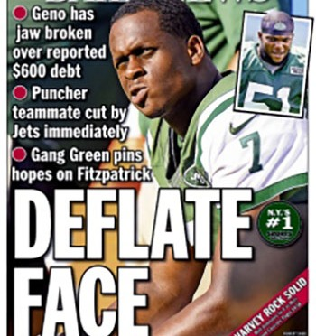 Does Geno Smith get a free pass because of his broken jaw?