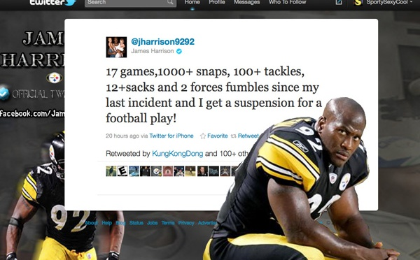 James Harrison Considering Legal Action vs. NFL After Deflategate Ruling