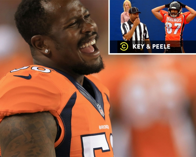 NFL fines Broncos' Von Miller for 'Key & Peele'-inspired sack dance
