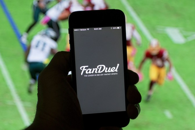 Here's why an NFL player is suing FanDuel, Ironically