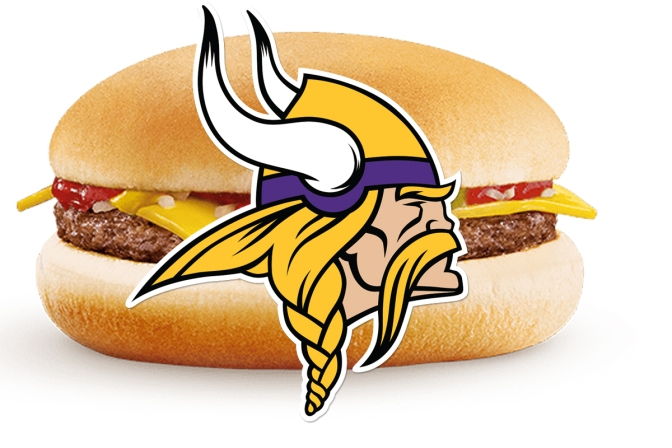 mcdonalds, vikings, minnesota vikings, mcdonalds minnesota vikings