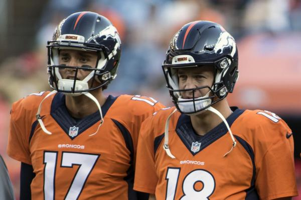 Is Peyton Manning going to start Monday night against the Bengals?