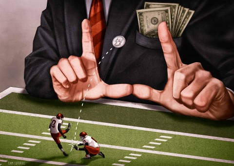 Does the NFL exploit the poor?
