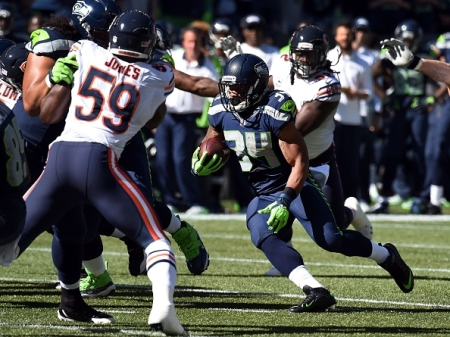 nfl,football,thomas rawls,seahawks,rb,touchdown,td,Rawls,baby,beast,mode,Seattle Seahawks (Professional Sports Team),run,power,big,San Francisco 49ers (Professional Sports Team),American Football (Sport),Highlights