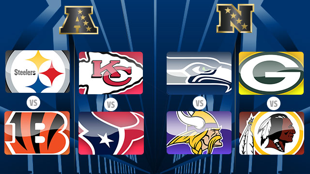2015 NFL Playoffs (Wildcard) are finally here!
