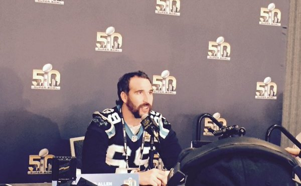 Panthers defensive end Jared Allen, the NFL's active sacks leader, announced his retirement Thursday