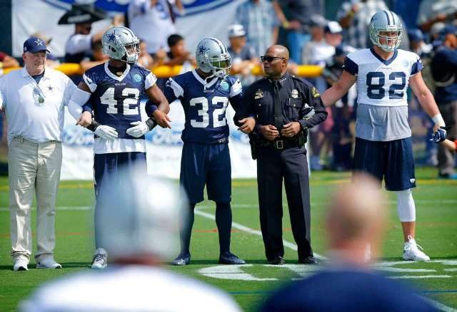 Dallas Cowboys and the police