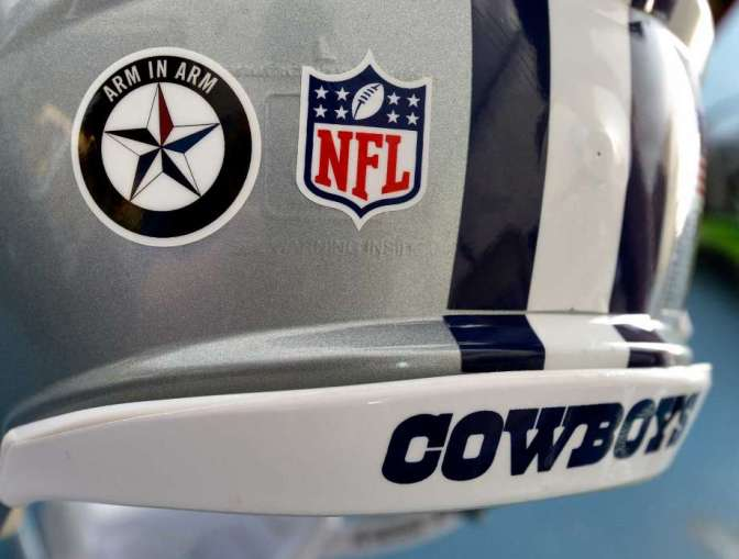 NFL denies Cowboys' request to wear decal honoring fallen Dallas officers