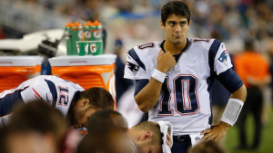 Jimmy Garoppolo will fill in for Tom Brady