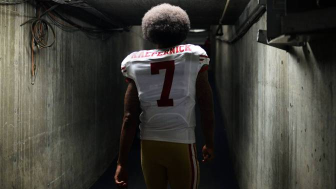 Colin Kaepernick – role model