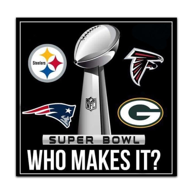 Who will meet in Super Bowl 51?
